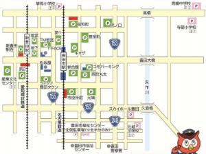 豊田おいでん祭り花火大会駐車場2015年