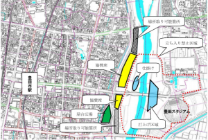 豊田おいでん祭り花火大会場所どり2016年分