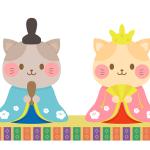 猫ひな祭り